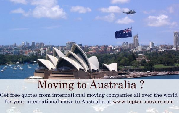 Moving to Australia ?