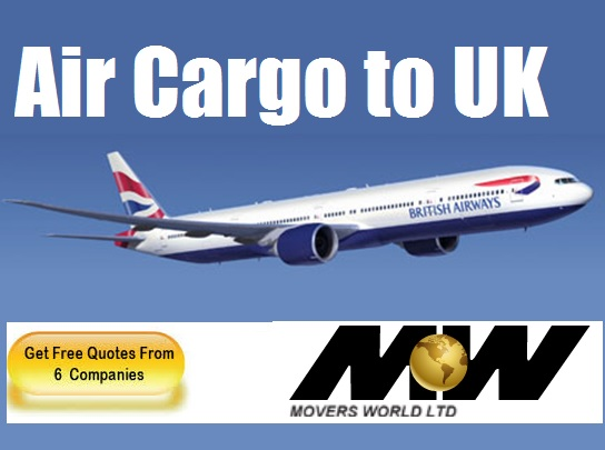 air cargo to UK