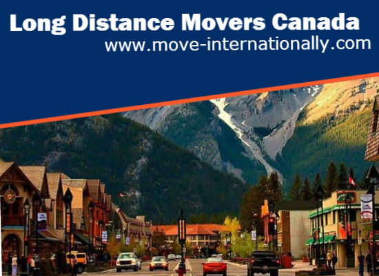 Long Distance Movers‎ Canada